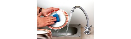 Washing the dishes and other surfaces