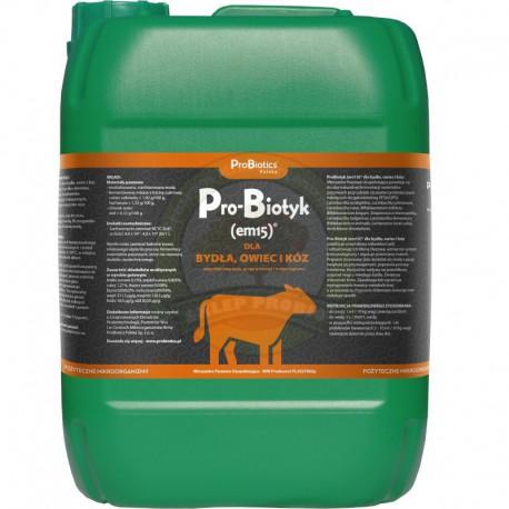Pro-Biotyk (Em-15) dla bydła, owiec, kóz 10L