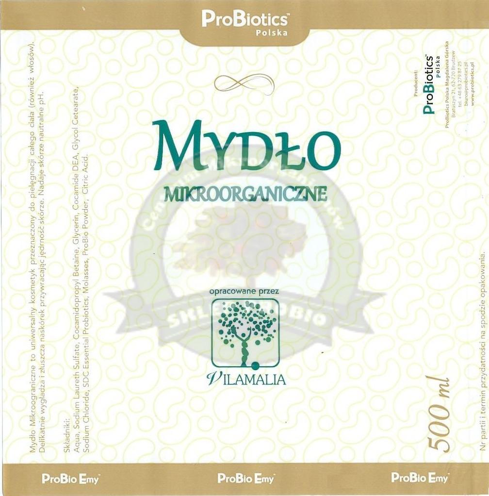 """""""mydlomikroorganiczne"""